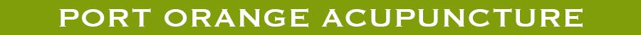 PORT ORANGE ACUPUNCTURE logo